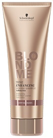 Schwarzkopf BlondMe Tone Enhancing Bonding Shampoo warme Blondtöne