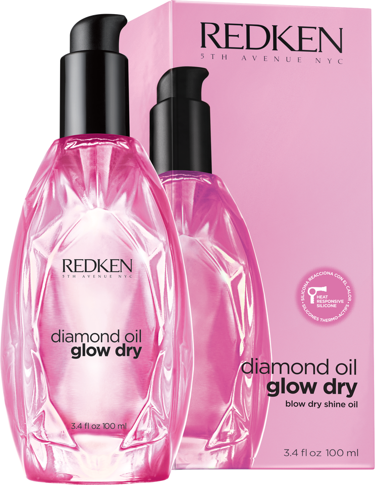 Diamond Oil Glow Dry von Redken - blow dry shine oil