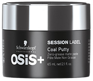 Schwarzkopf Osis Session Label Coal Putty