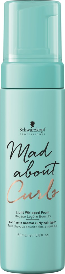 Schwarzkopf Mad about Curls_LightWippedFoam_150ml