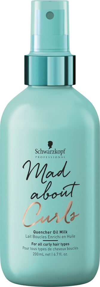 Schwarzkopf Mad about Curls_QuencherOilMilk_200ml
