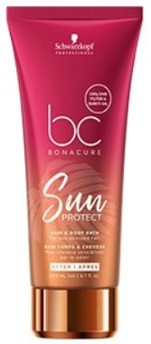 Schwarzkopf Bonacure Sun Protect Hair & Body Bath
