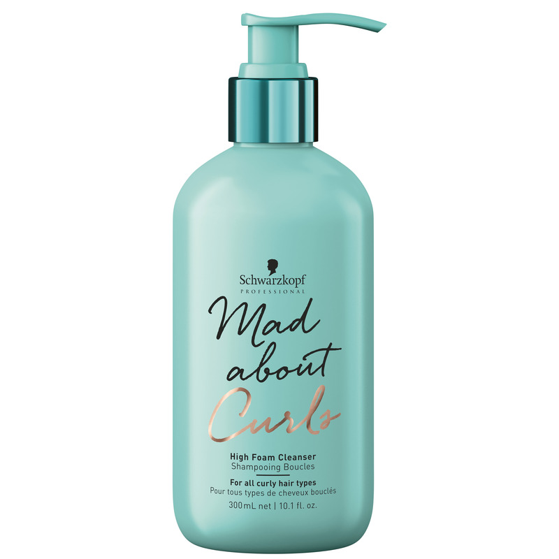 Schwarzkopf Mad about Curls_HighFoamCleanser_300ml