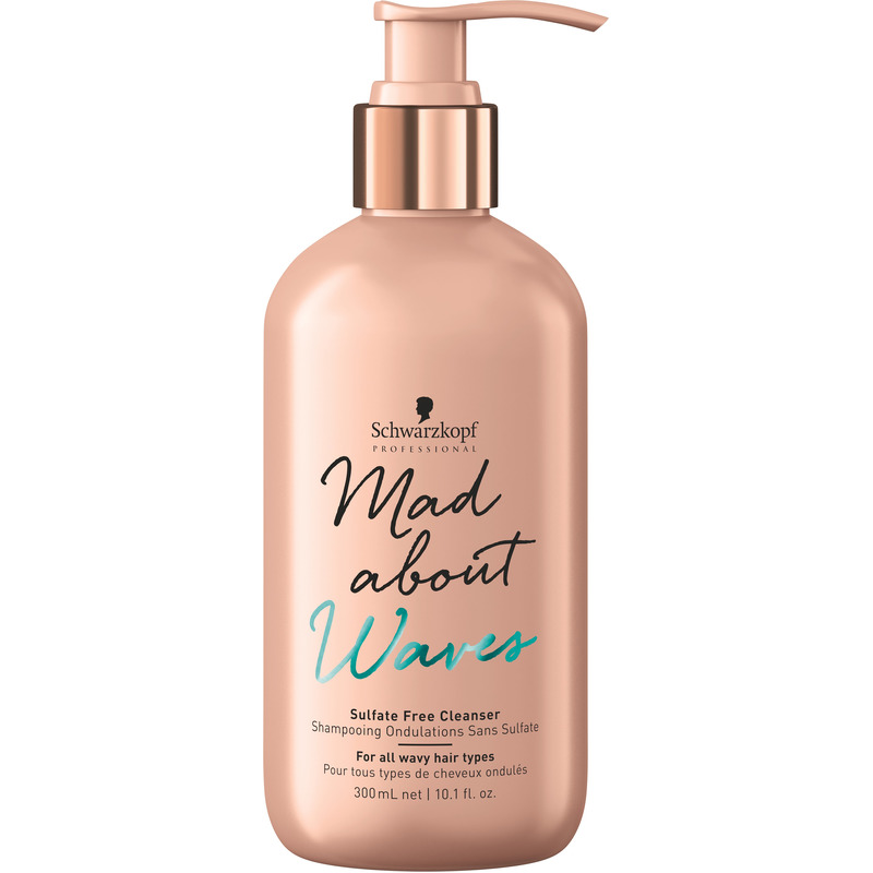 Schwarzkopf Mad about Waves_SulfateFreeCleanser 300ml